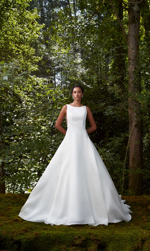 Anne Barge A-line gown