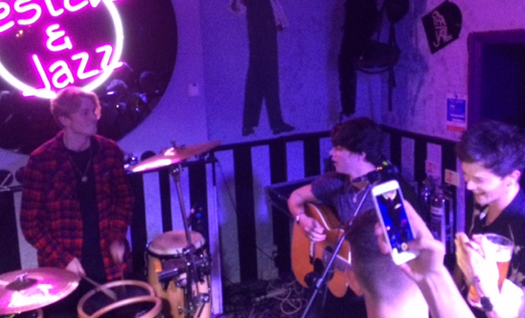 Birthday party bash for the Vamps at the White Swan Hotel