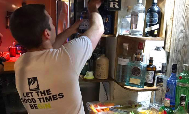 White Swan Hotel in Henley launches gin bar