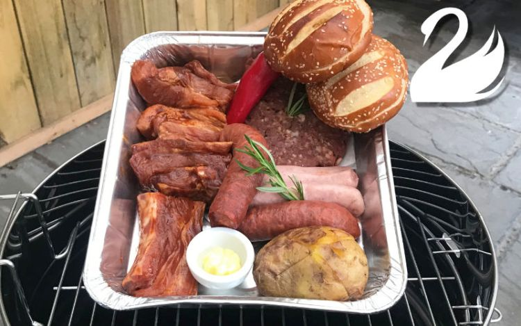Cook your own BBQ at the White Swan