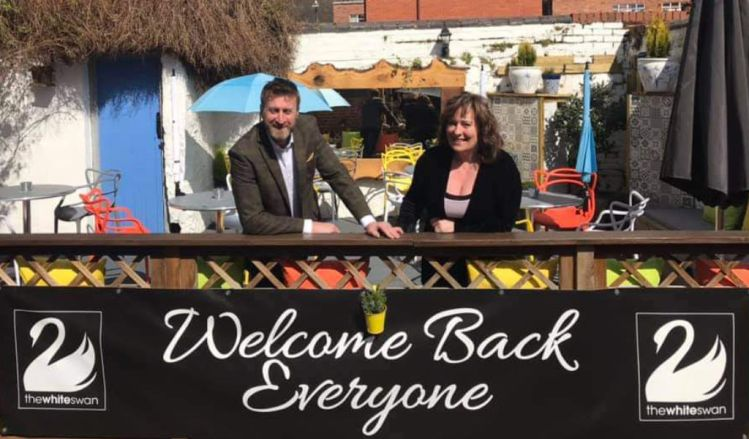 Welcome back to the grand White Swan reopening in Henley