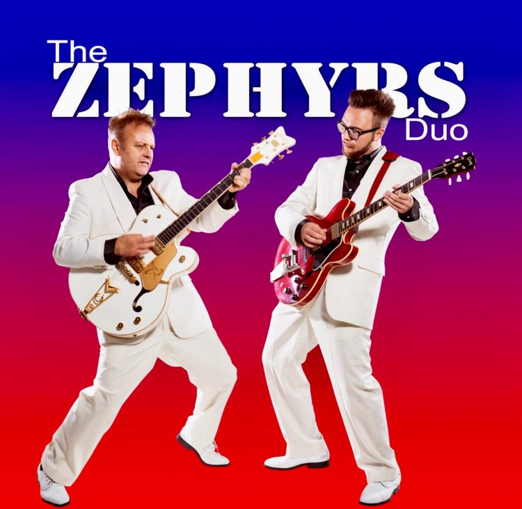 The Zephyrs appearing at The White Swan Hotel Henley in Arden