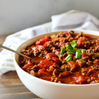 No Bean 30 Minute Chili