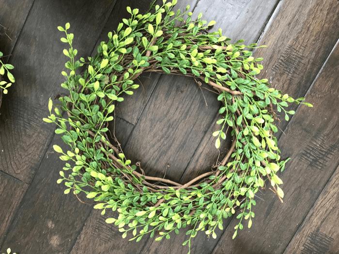 Faux Boxwood Wreath FINAL