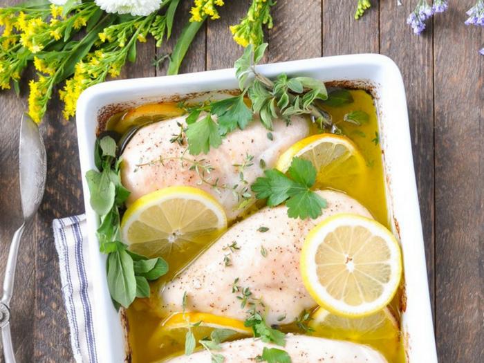 Lazy Day Garlic and Lemon Chicken