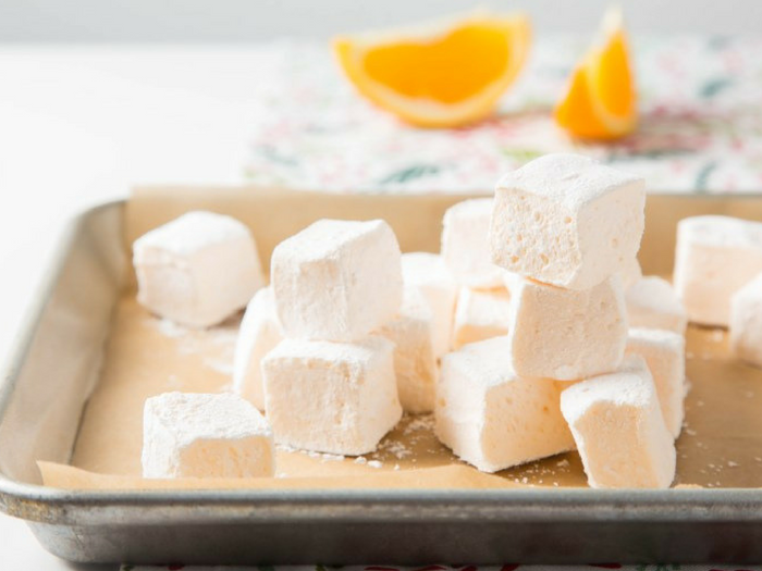 Orange Marshmallows by The Missing Lokness