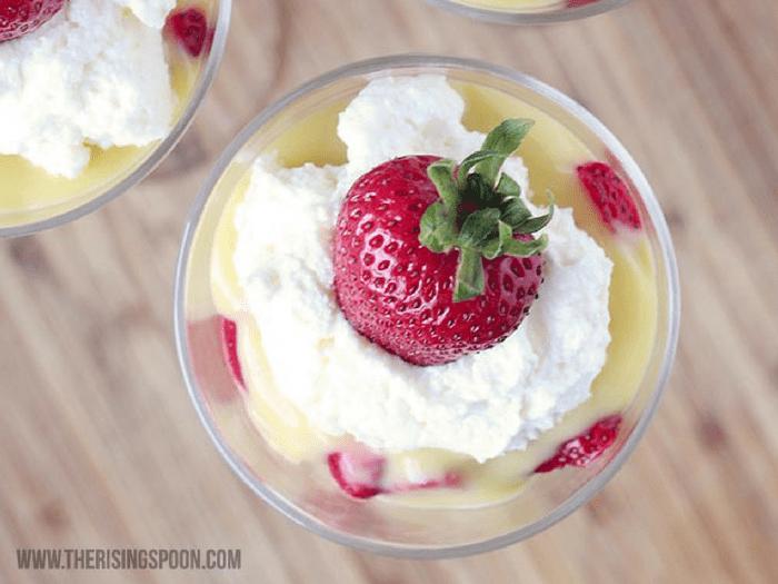 Strawberry Shortcake & Lemon Curd Parfait by The Rising Spoon