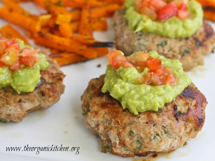 Jalapeno Turkey Burgers by The Organic Kitchen