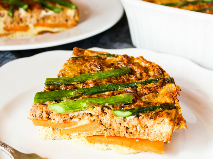 Turkey & Asparagus Breakfast Casserole by The Whole Cook horizontal(3)