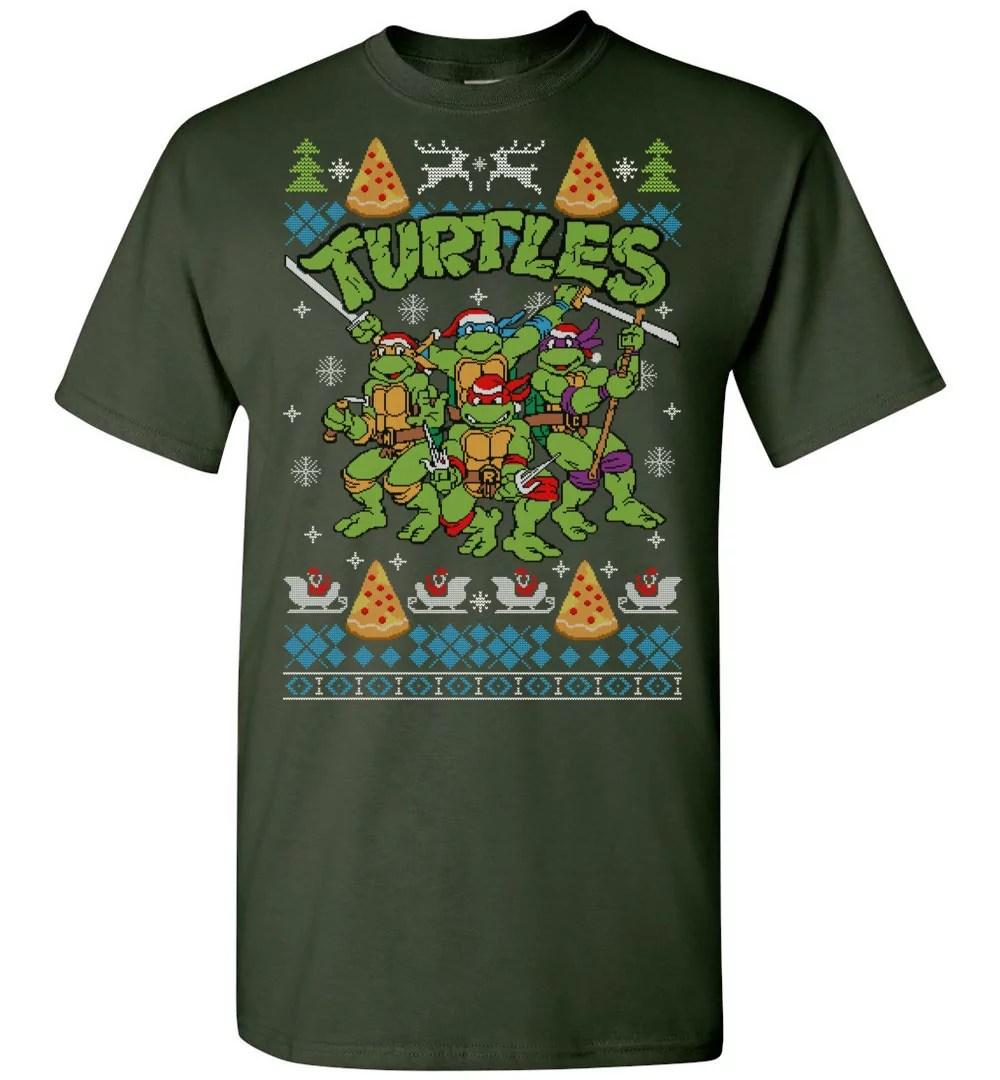 9727fe33c Teenage Mutant Ninja Turtles Ugly Christmas Sweater - The Wholesale ...