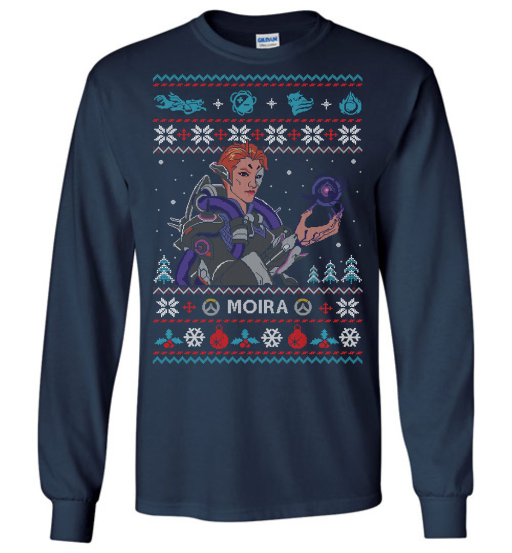 Overwatch Moira Ugly Christmas Sweater The Wholesale T