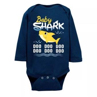 c50f849a Baby Shark Doo Doo Doo Infant Long Sleeve Bodysuit - The Wholesale T ...