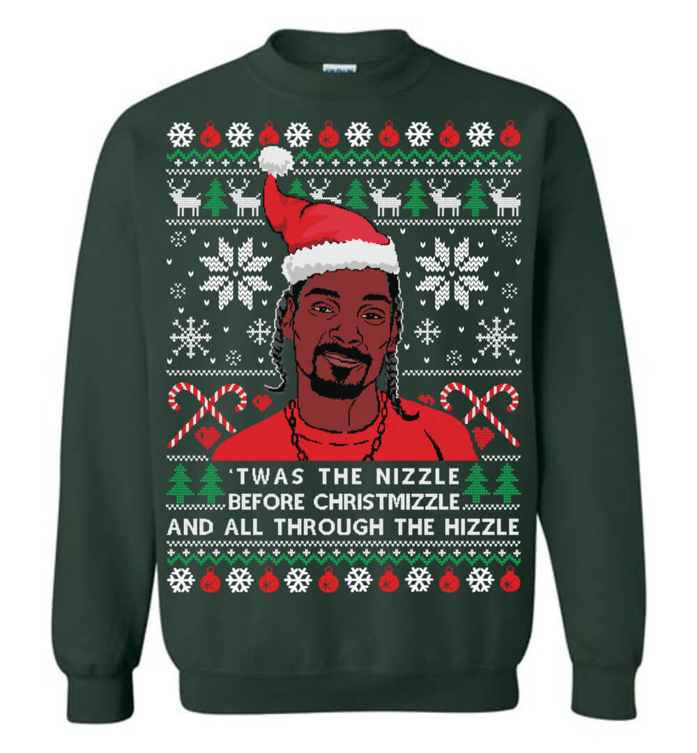 2989c6fb7 Snoop Dogg Christmas Sweater - The Wholesale T-Shirt Co.