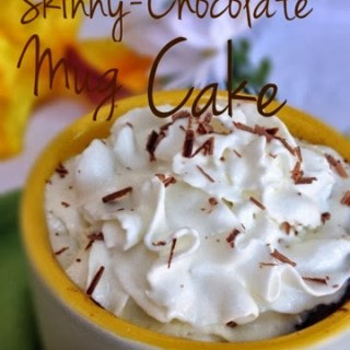 Skinny-Chocolate Mug Cake
