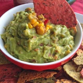 Corn & Chile Salsa Guacamole