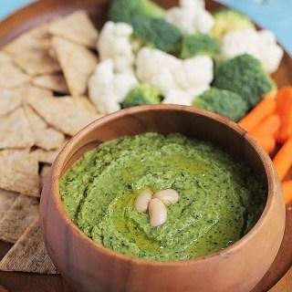 Spinach Cannellini Hummus