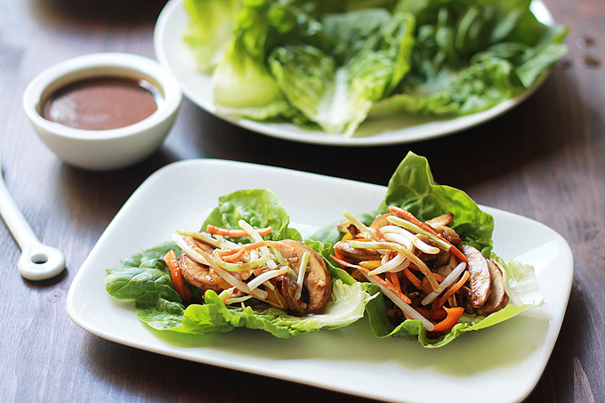 Mushroom Bul Go Gi Lettuce Wraps - The Whole Serving