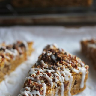 Vegan Pumpkin-Date Bread
