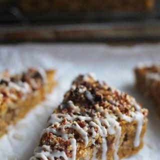 Vegan Pumpkin-Date Bread