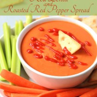Red Lentil & Roasted Red Pepper Spread
