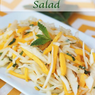 Jicama Mango & Pear Salad