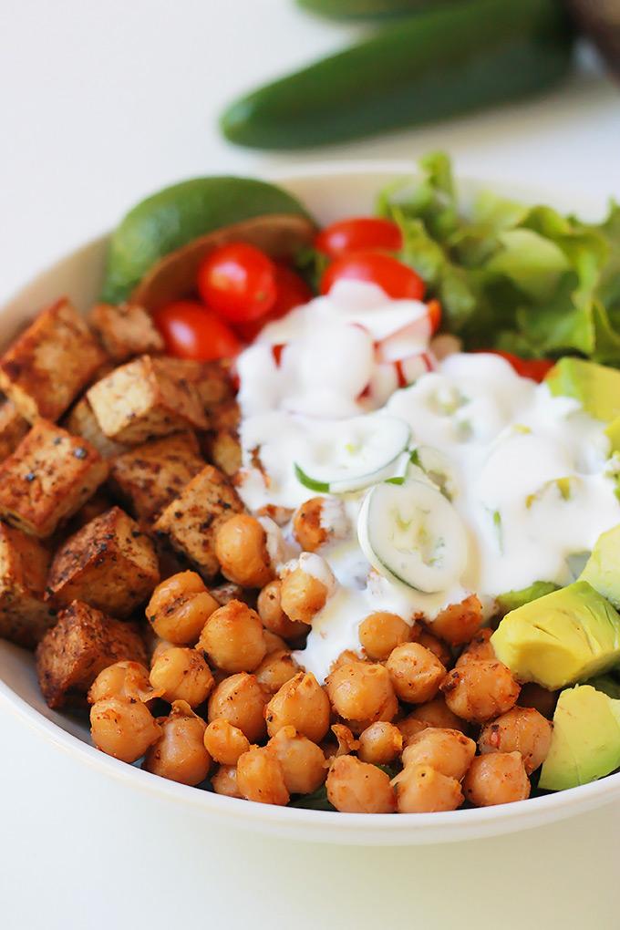 Spicy-Chickpea-Burrito-Bowl-Sauced