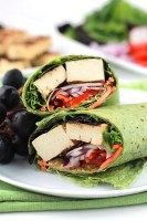 Grilled Tofu Wraps