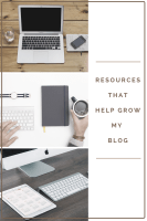 Resources That Help Grow My Blog-If you are a blogger or if you're thinking of starting a blog I hope you find this helpful.