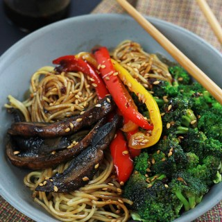 Spicy Ramen Vegetable Stir-Fry