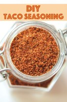 Tacos, nachos, soups, and dips, whatever you want. Skip the store-bought package and make your own DIY Taco Seasoning.