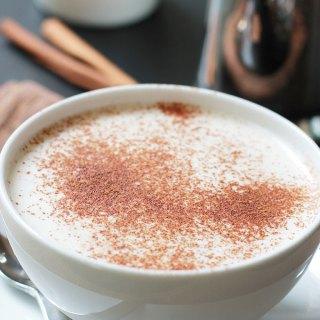 Organic Papaya Leaf Tea Latte