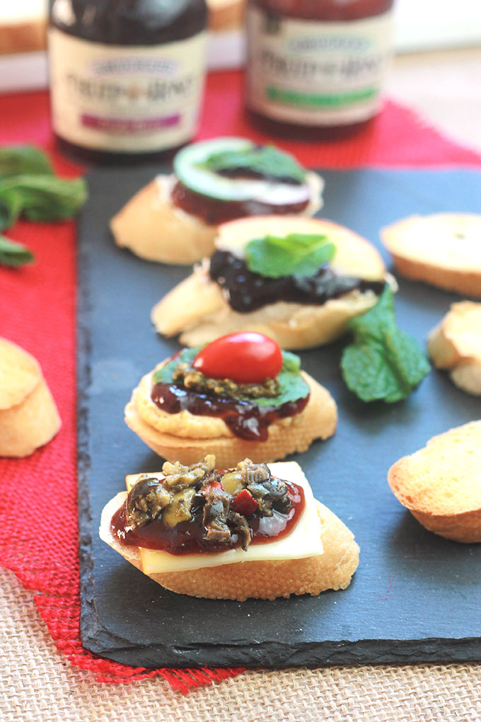 Entertain stress-free and spend more time enjoying your guest this holiday season, host a make-it-yourself Crostini Appetizer Party.