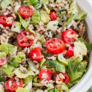 Pretty Pintastic Party #168 & 10 Minute Brussels Sprout Quinoa Rice