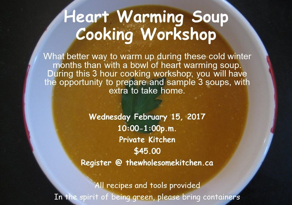 Upcoming Events – Heart Warming Soup