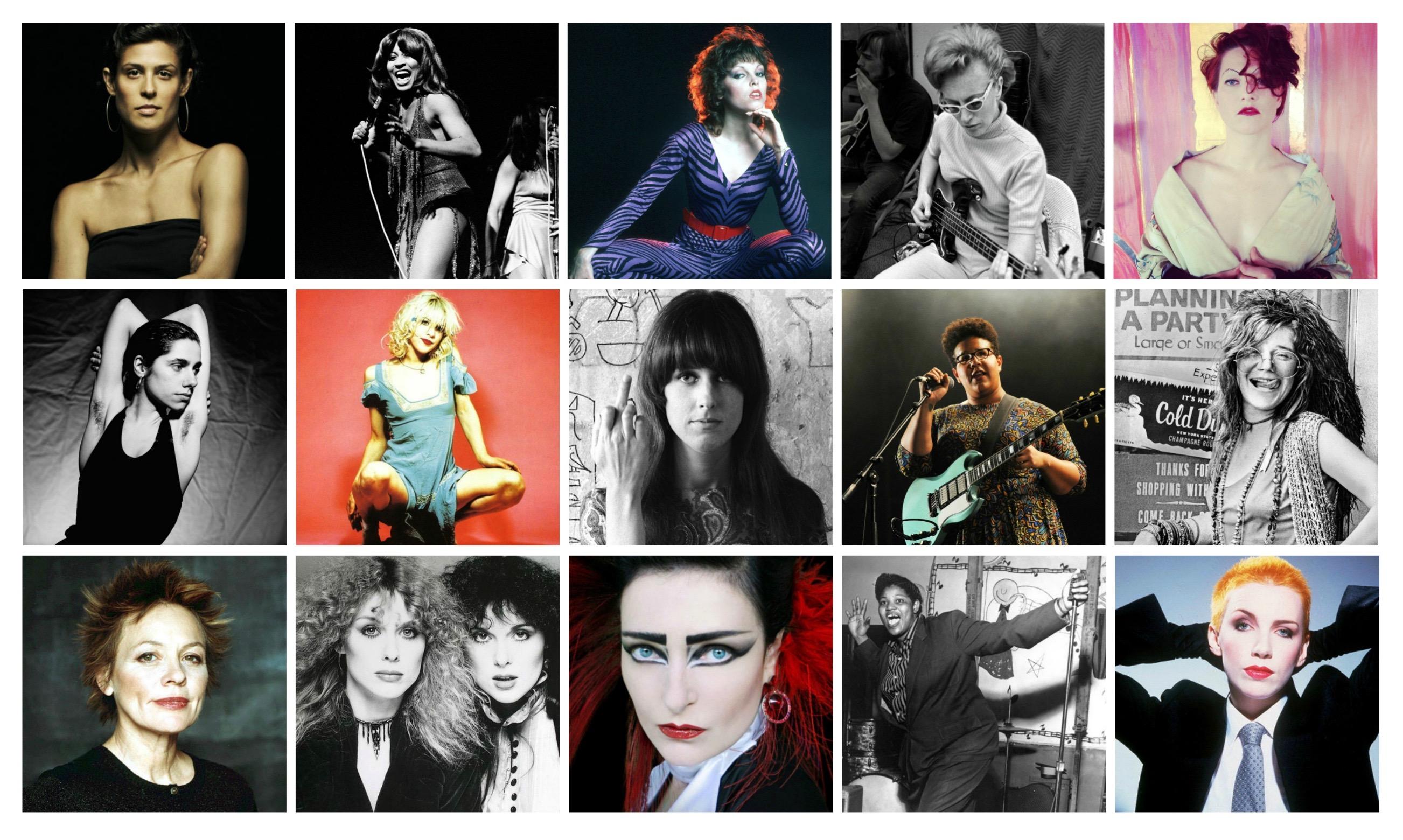 Rock songs female