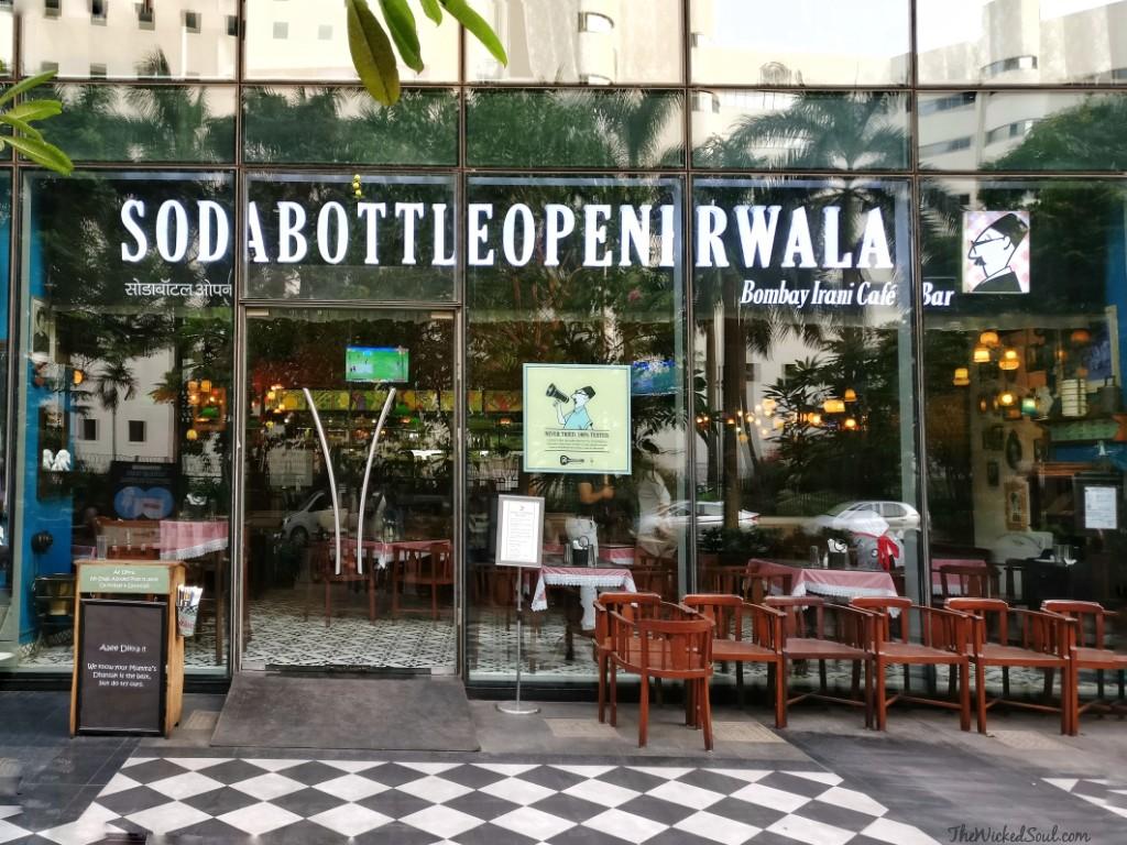 Parsian soirée at SodaBottleOpenerWala-Irani Café