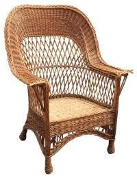 Antique Wicker Chair - The Wicker Shop