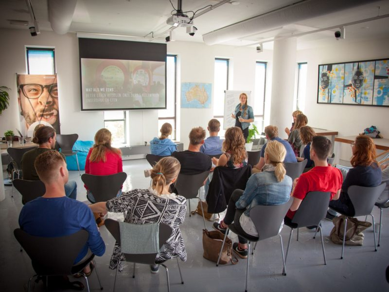 Seminar about travelling with kids
