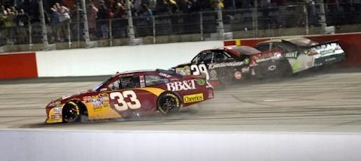 kevin-harvick-kyle-busch-feud-at-darlington-2011