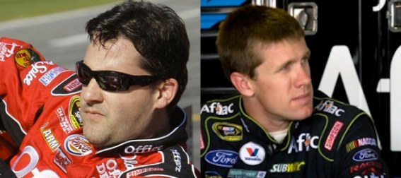 nascar-tony-stewart-and-carl-edwards
