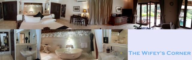 Inside our Terrace Villa