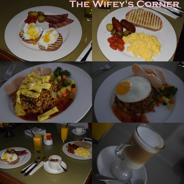 Few pictures of the breakfast we had in the villa