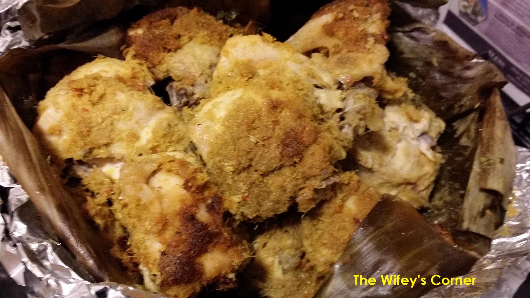 Baked Ayam Betutu