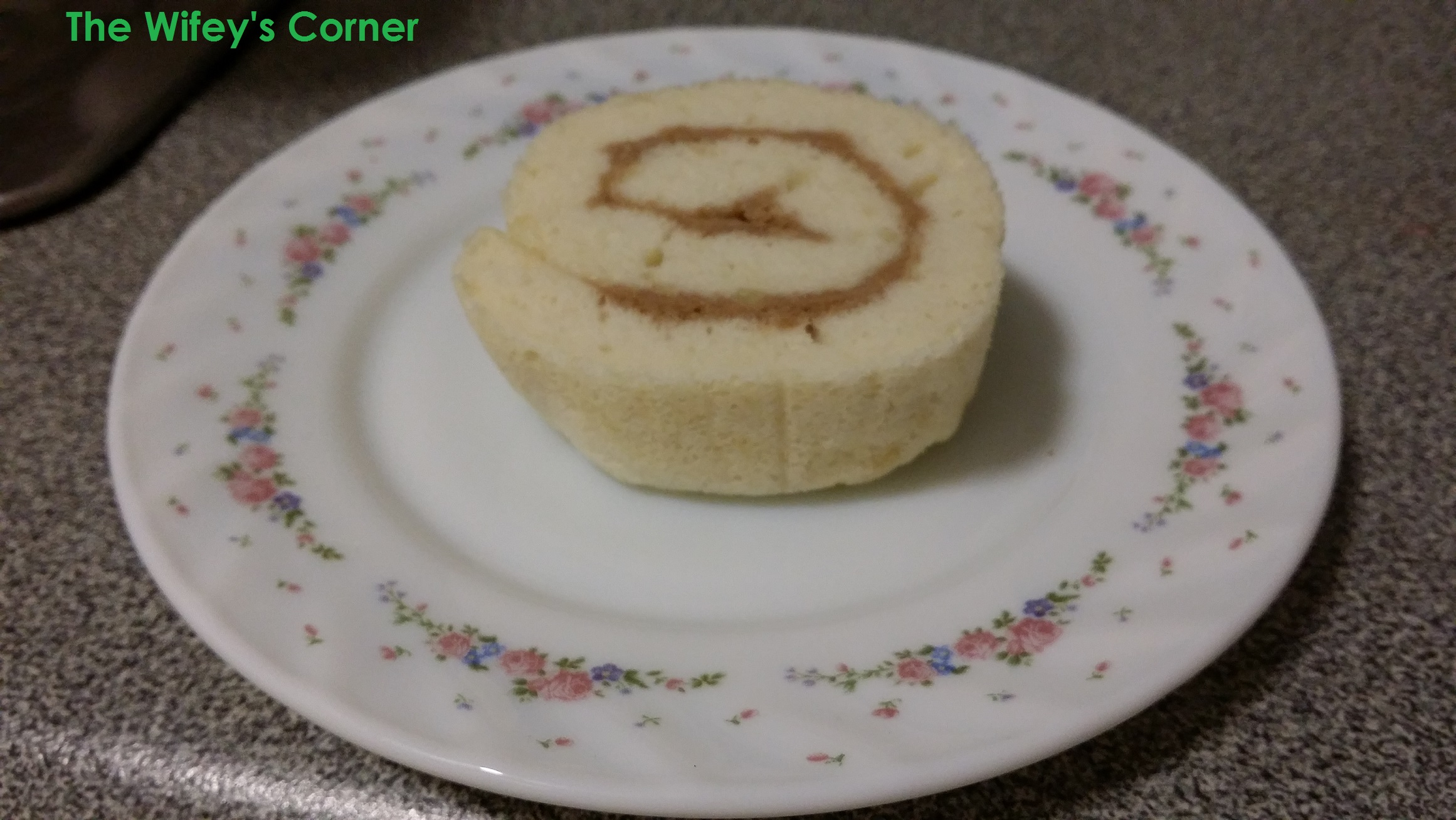 Egg white Rolled Cake