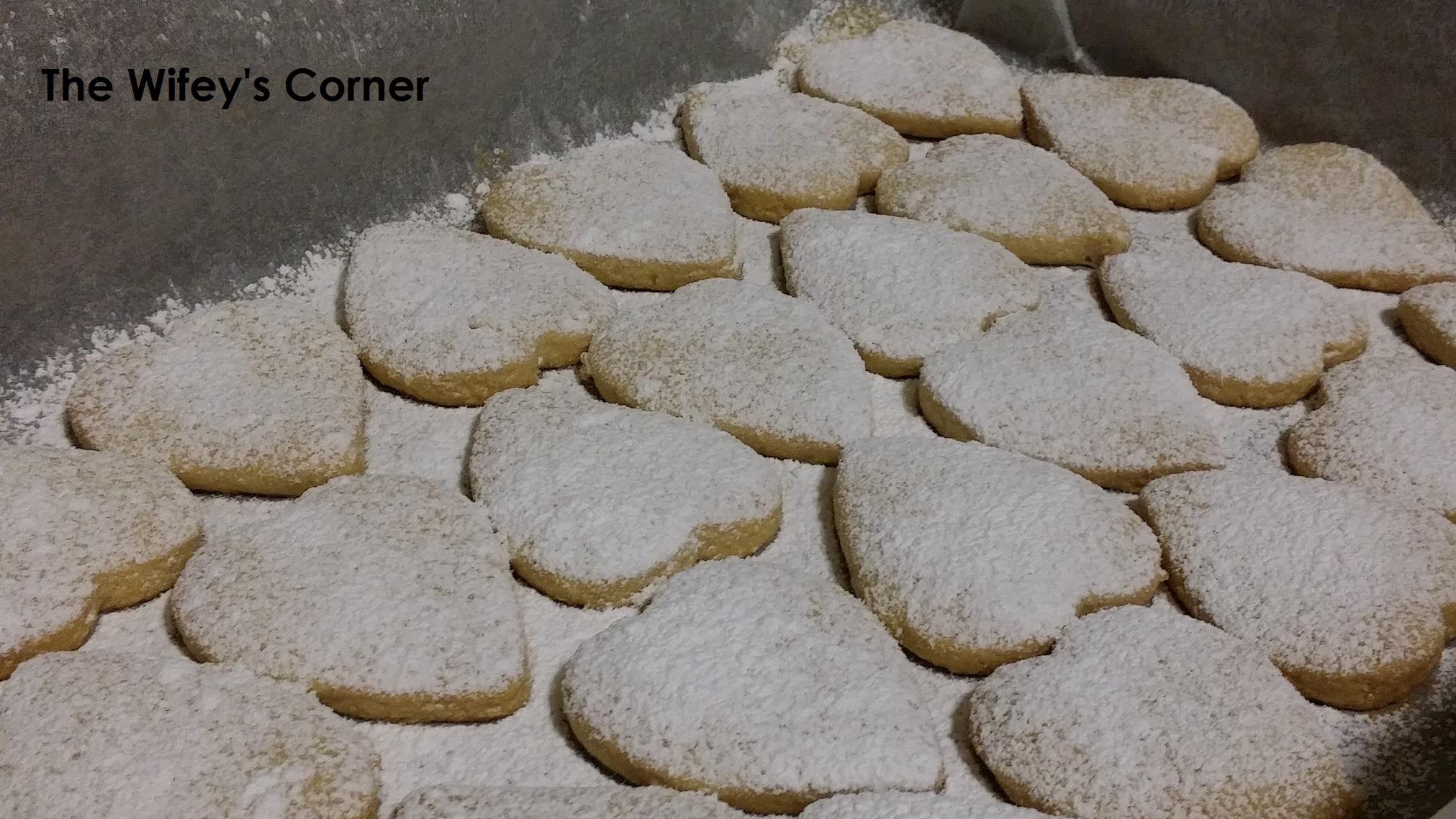 Kue Putri Salju aka Snow White Cookies