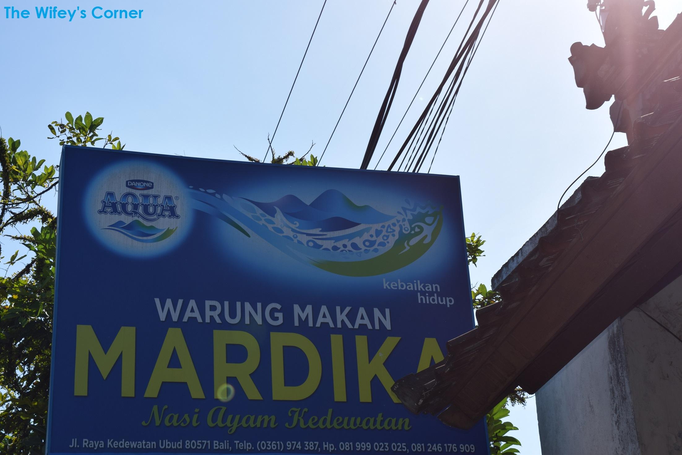 Nasi Ayam Kedewatan Bu Mardika, Ubud