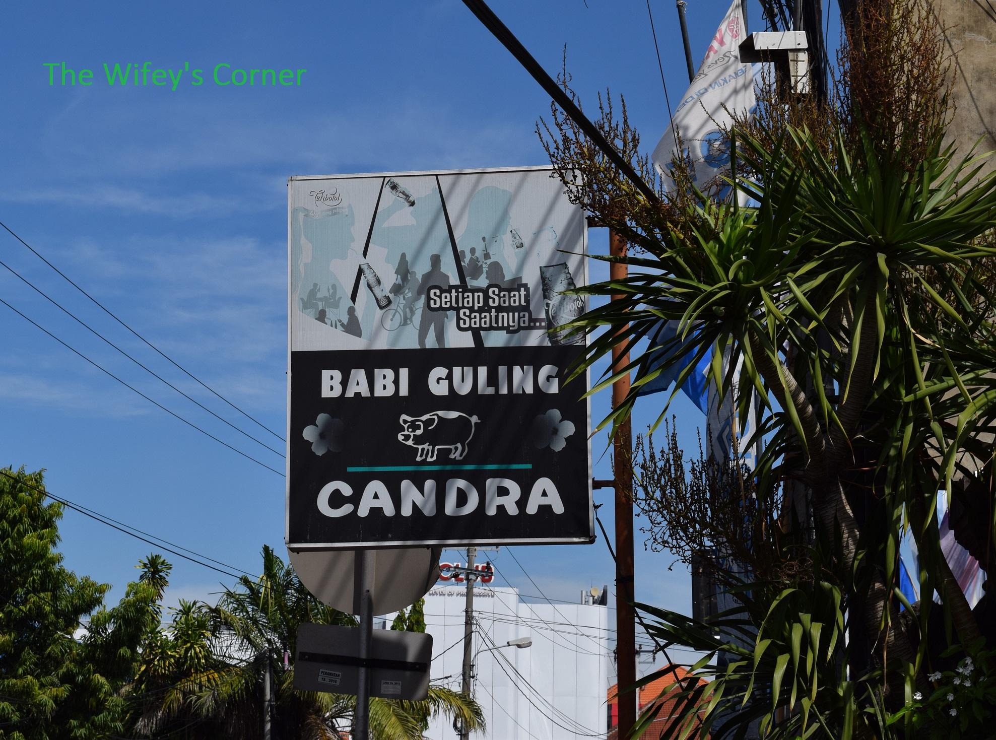 Babi Guling Candra, Denpasar Bali