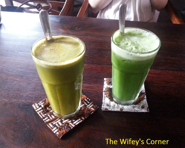 The healthy juices