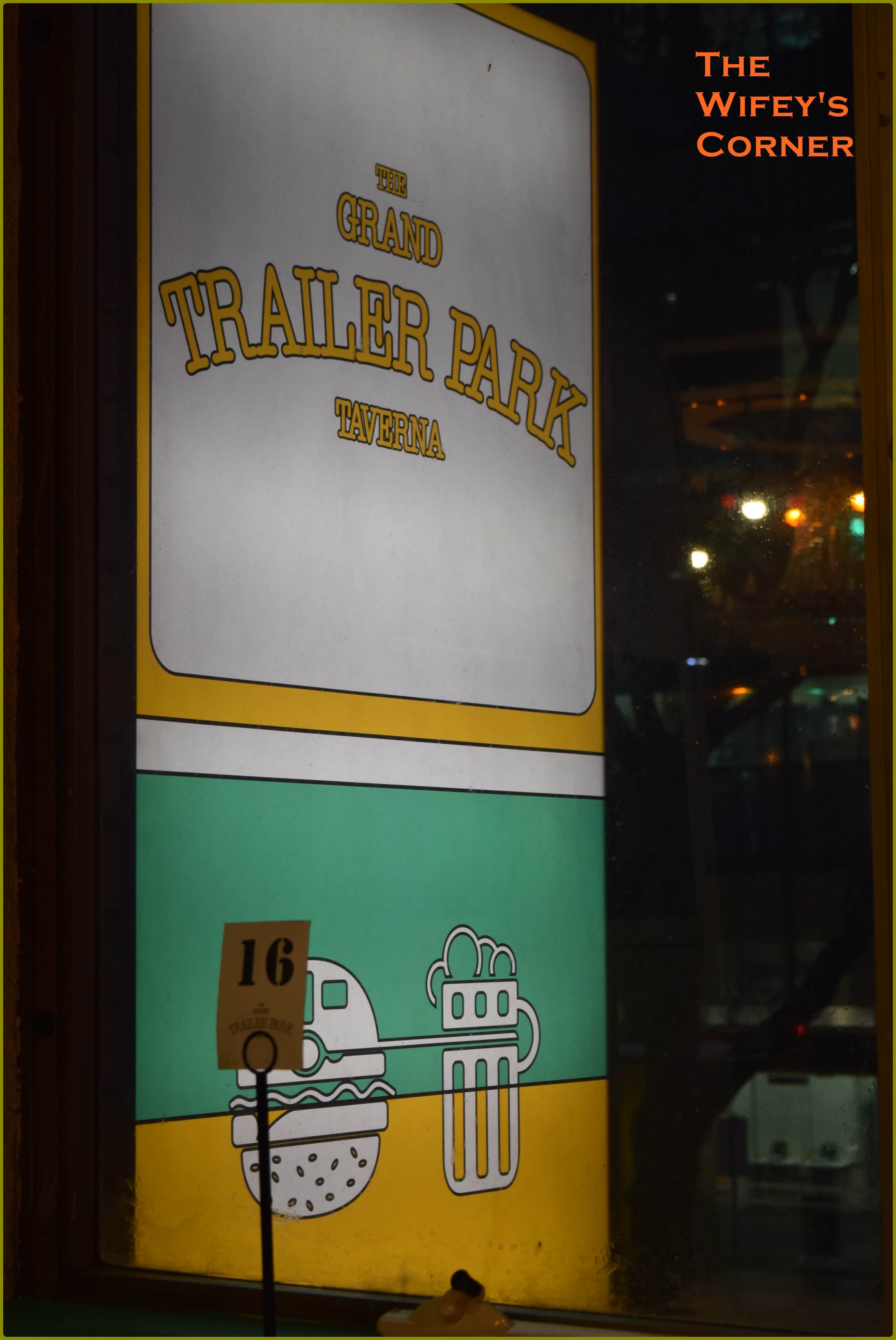 The Grand Trailer Park Taverna, Melbourne