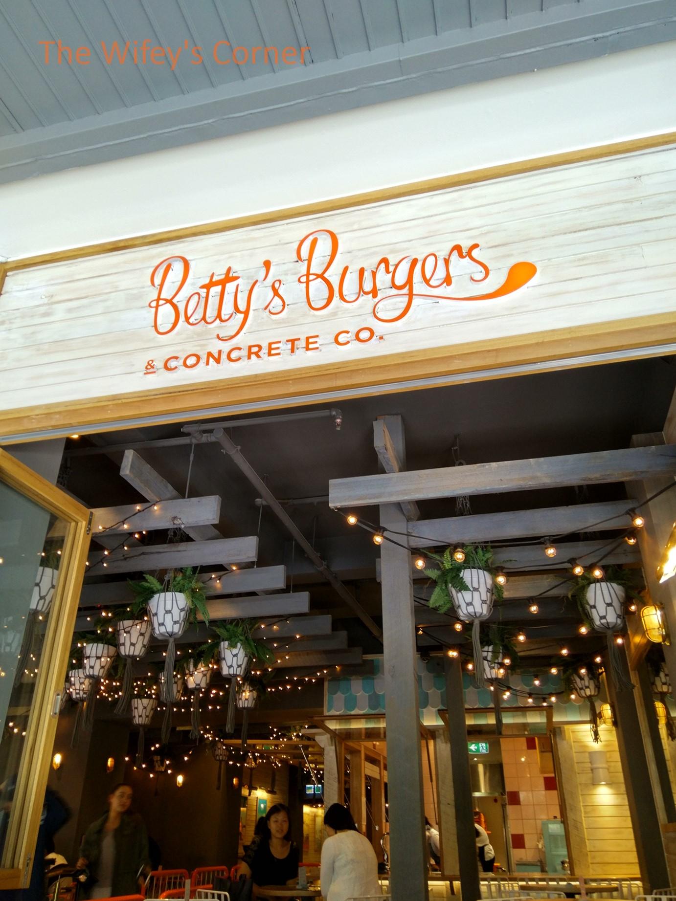 Betty's Burgers & Concrete Co, Melbourne